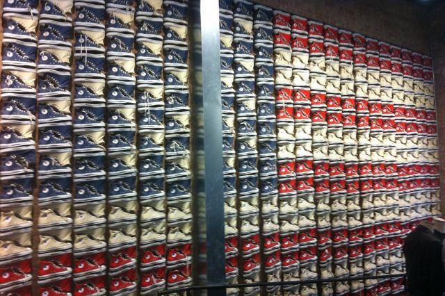 Converse Store New York City American Flag