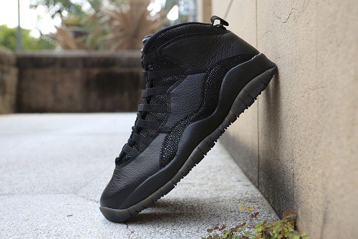 Drake X Air Jordan 10 Ovo Black Stingray8