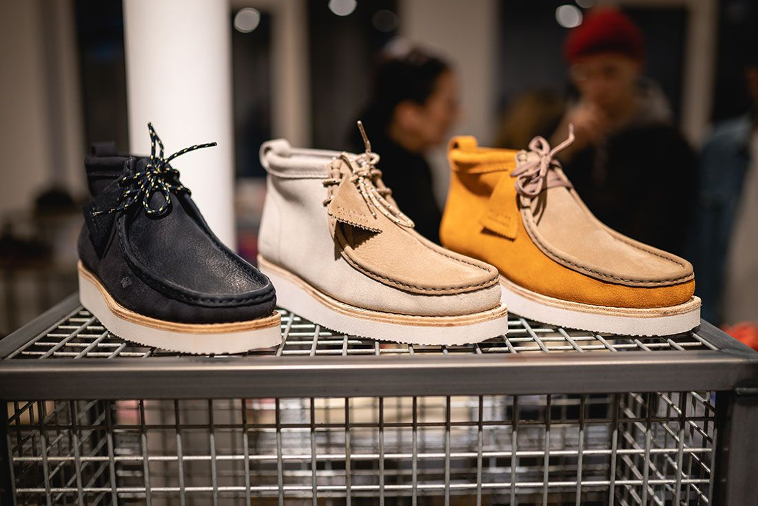 Clarks Originals Paris Fashion Week Neighborhood Desert Trek Wallabee7