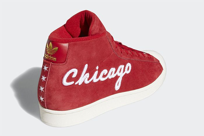 Adidas Pro Model Chicago All Star Back