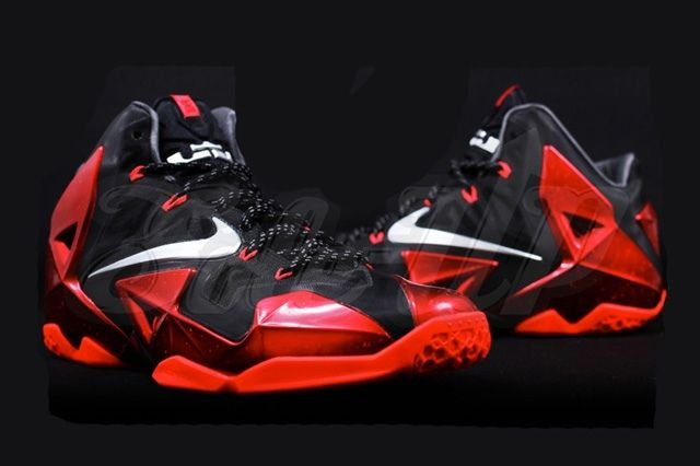 Nike Lebron 11 Miami Heat Away 8