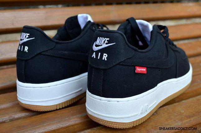 Nike Air Force 1 Supreme Heels 1