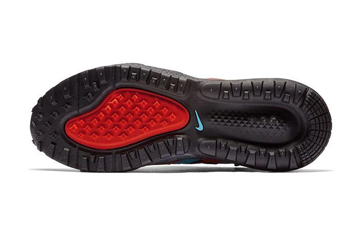 Nike Air Max 270 Bowfin Aqua Red Brown 5