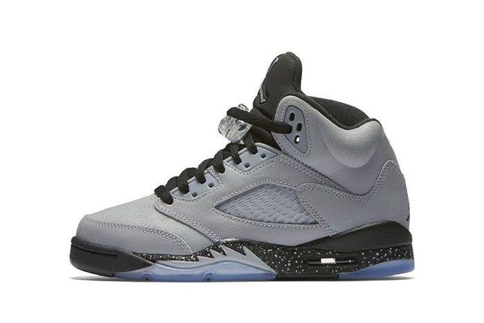 Air Jordan 5 Gs Wolf Grey 3