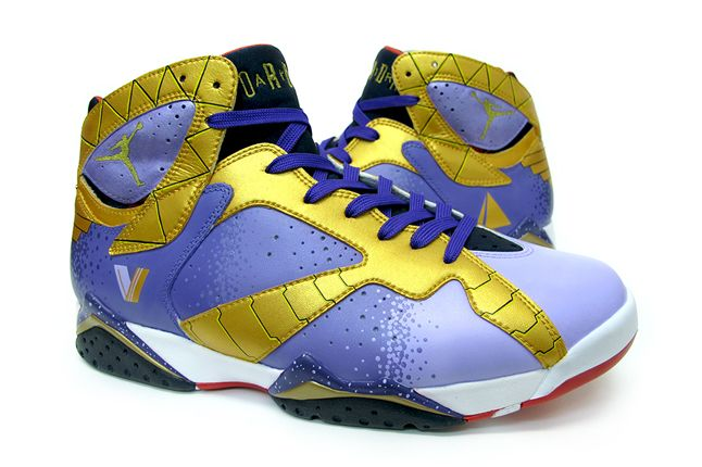 Ozymandias Air Jordan Vii Custom Pair Quater 1