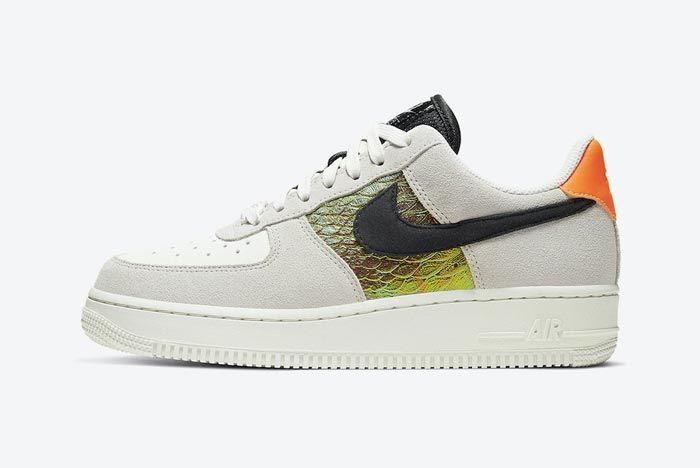 Nike Air Force 1 Snakeskin Lateral