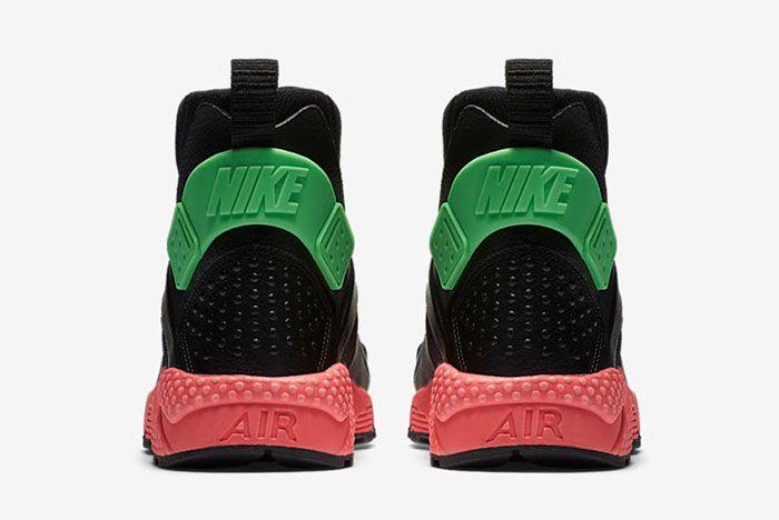 Nike Huarache Mid Premium Wmns Hot Punch1