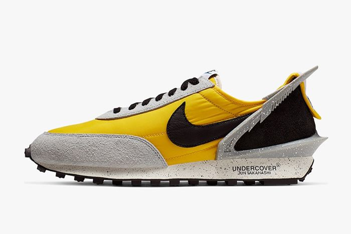 Undercover Nike Daybreak Bright Citron Left