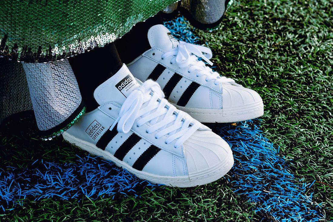 Adidas Superstar 80S Recon On Foot