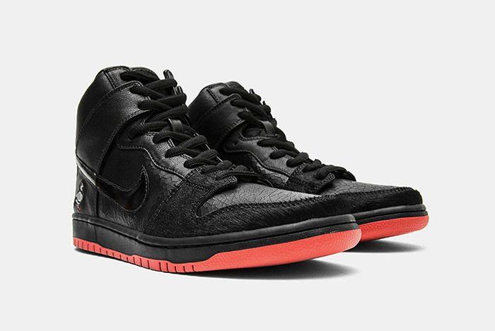 1 Nike Jeff Staple Sb Dunks High Black Pigeon Relevant Customs