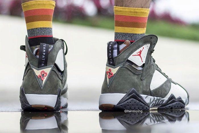 Air Jordan 7 Patta Heel