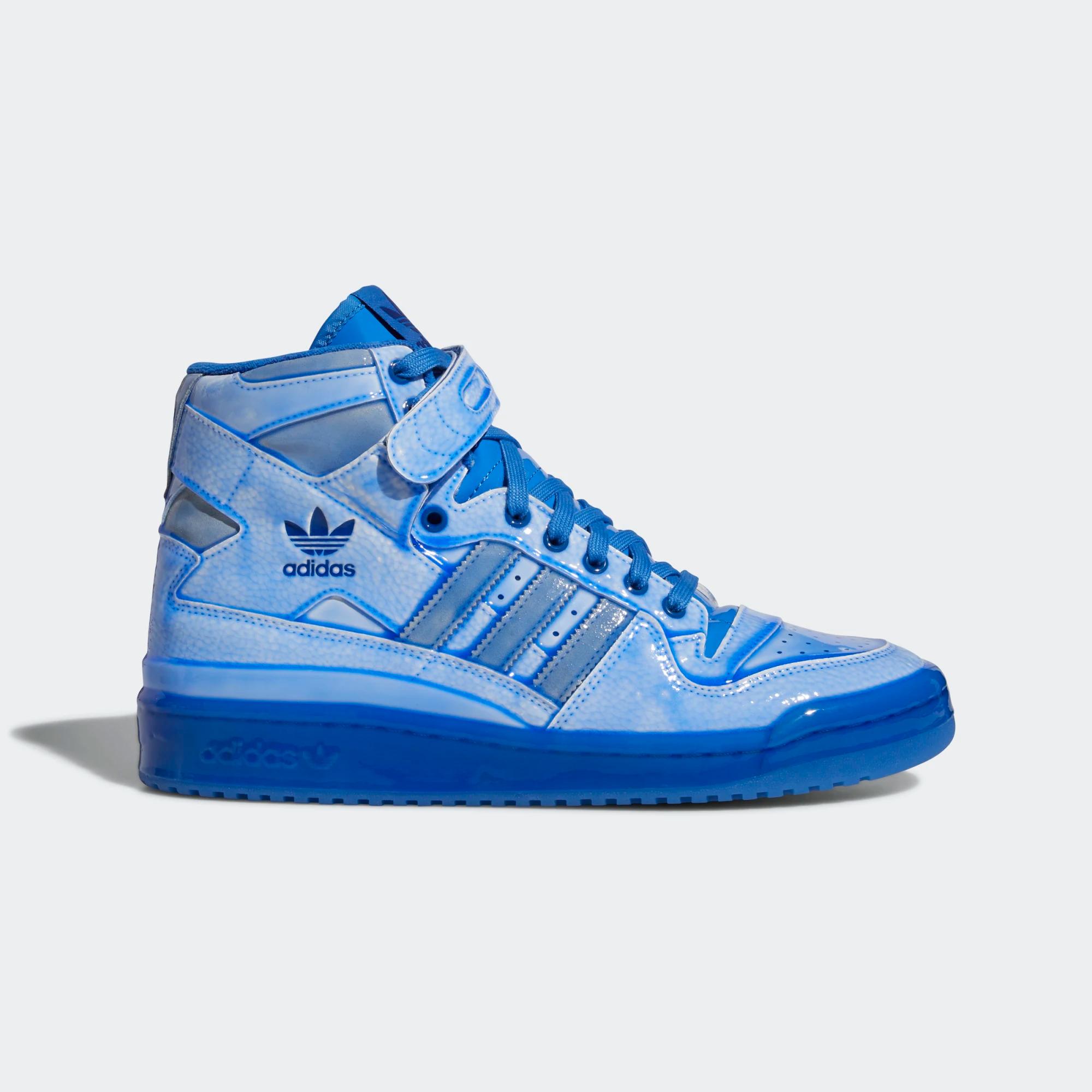 Jeremy Scott x adidas Forum Hi 'DIP' Blue