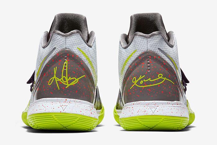 Nike Kyrie 5 Mamba Mentality Ao2918 102 Release Date Heel
