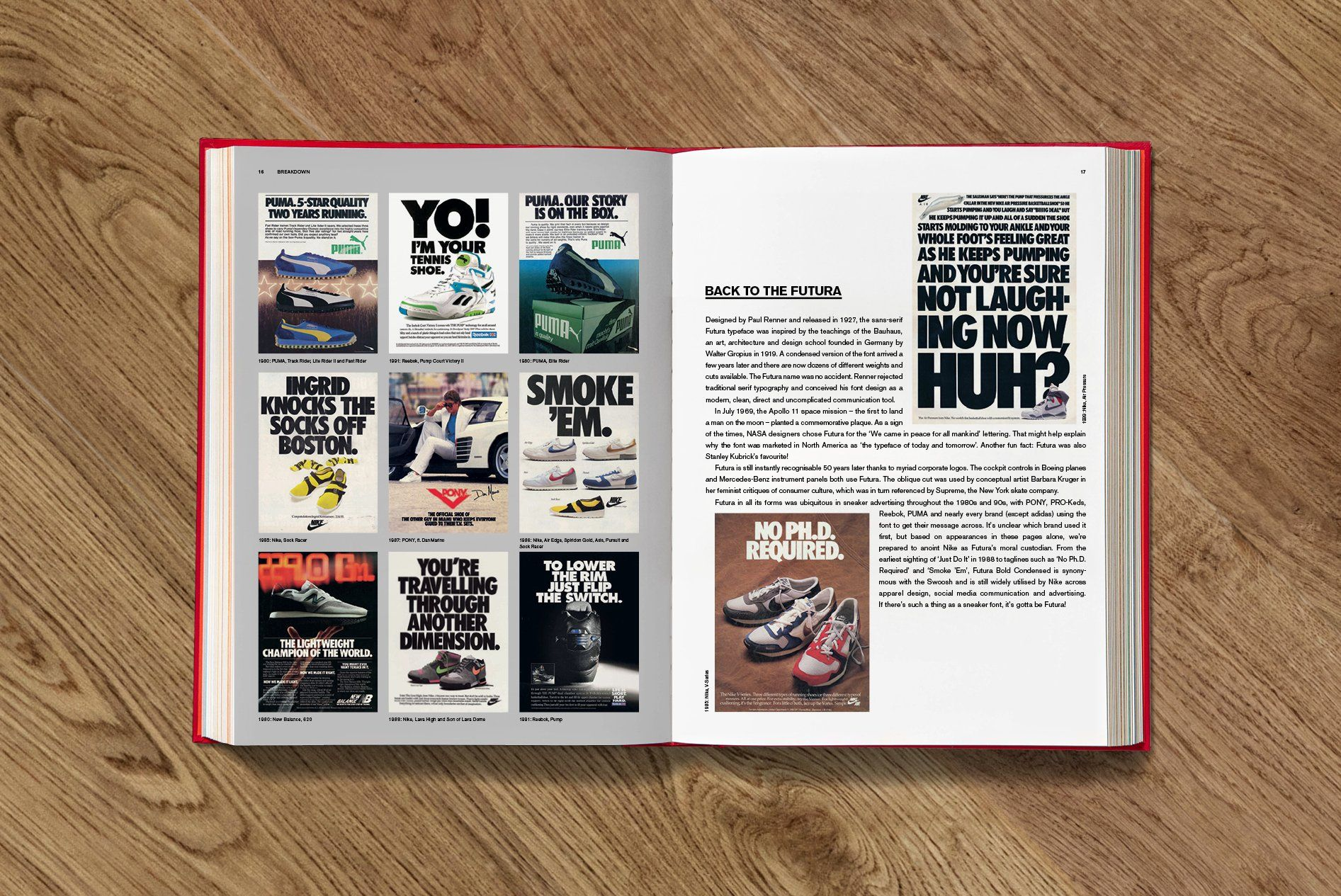 SOLED OUT Sneaker Freaker Book Futura