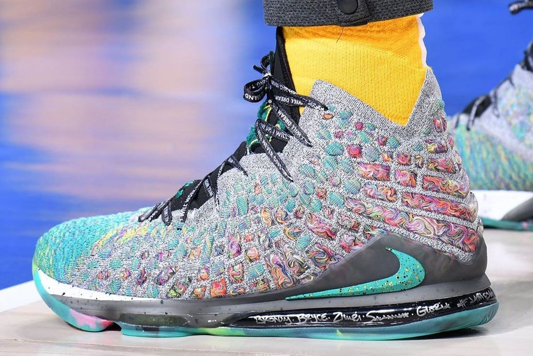 Nike Lebron 17 I Promise Left