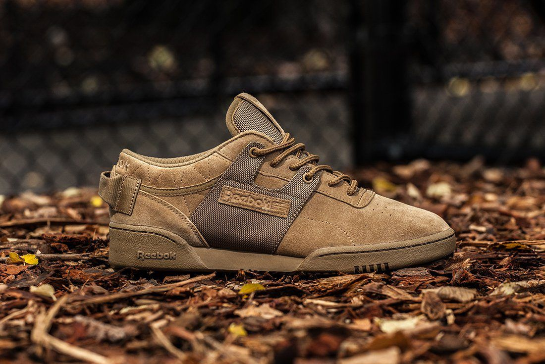 Mita Sneakers X Reebok Workout Low Clean Boot Camp