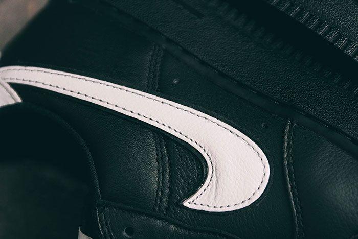 Nike Air Force 1 Qs Black White Friday Swoosh