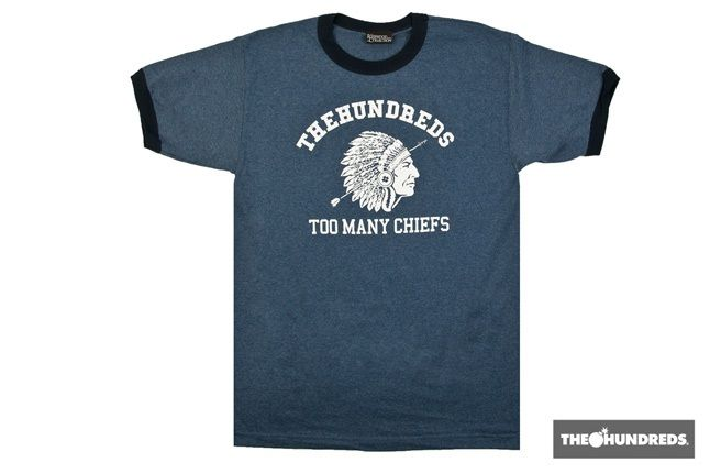 The Hundreds Rosewood Tee 7 1