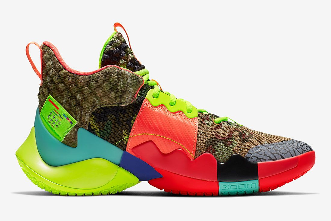 Russell Westbrook Jordan Why Not Zer0 2 Right