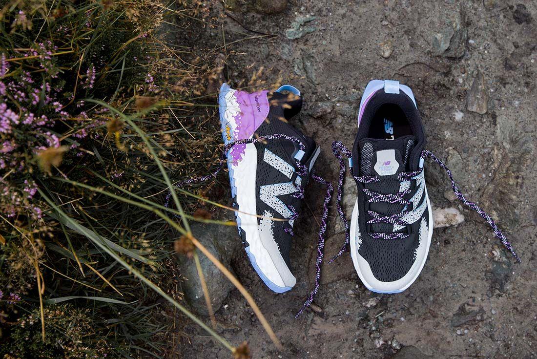 New Balance Hierro V5 Black Womens Off Foot