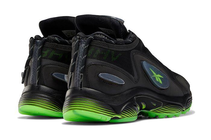 Misbhv Reebok Daytona Dmx 2 0 Black Green Eg9677 Release Date Heel