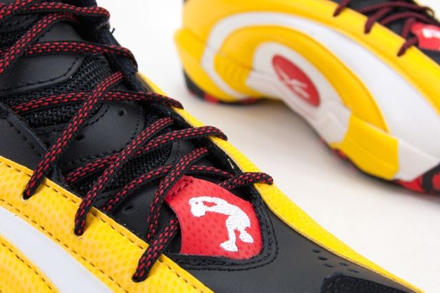 Reebok Shaqnosis Og Black White Yellow Red 2