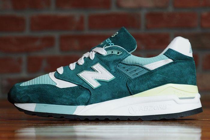 New Balance 998 Emerald 2