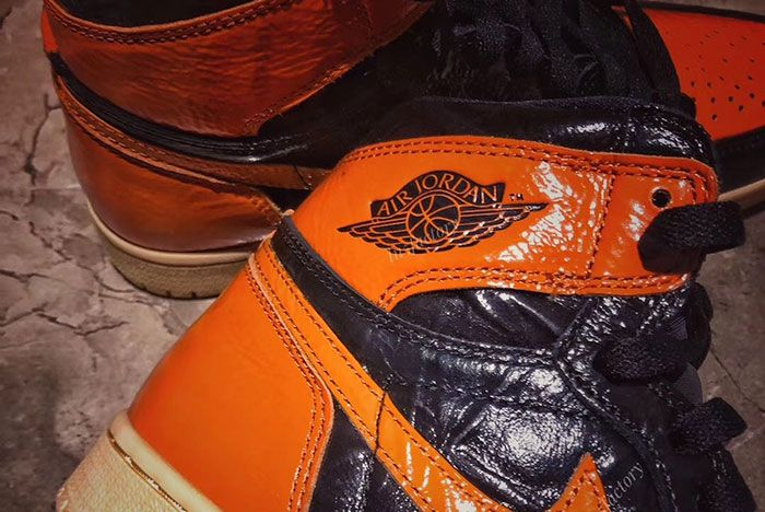 Air Jordan 1 Shattered Backboard 3 0 555088 028 Release Date Pricing 6 Up Close