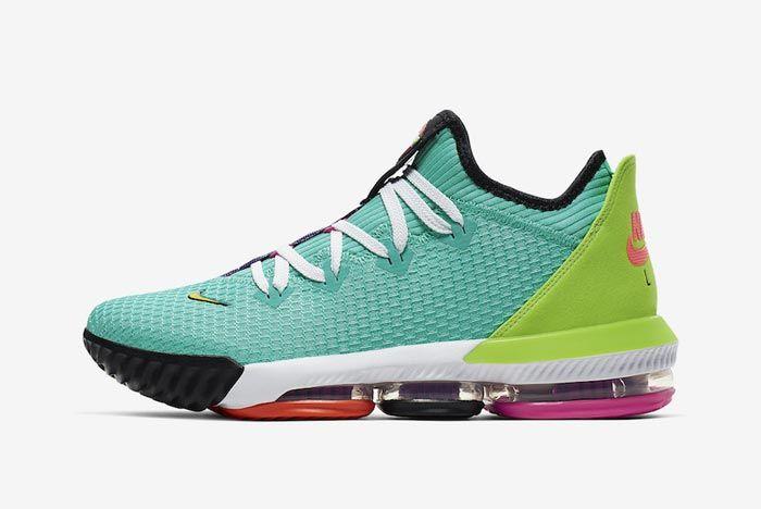 Nike Lebron 16 Hyper Jade Lateral