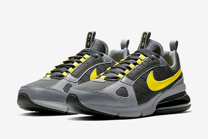 Nike Air Max 270 Futura Opti Yellow Ao1569 008 Front Angle Shot 1