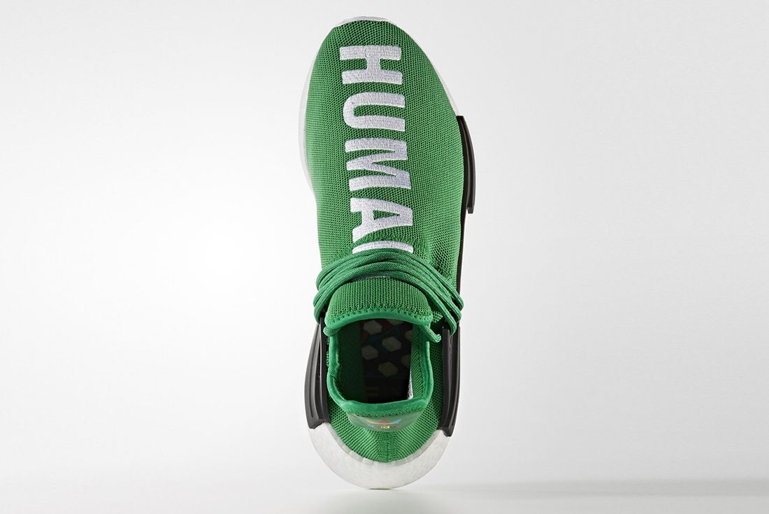 Pharrell Williams X Adidas Hu Nmd Green6