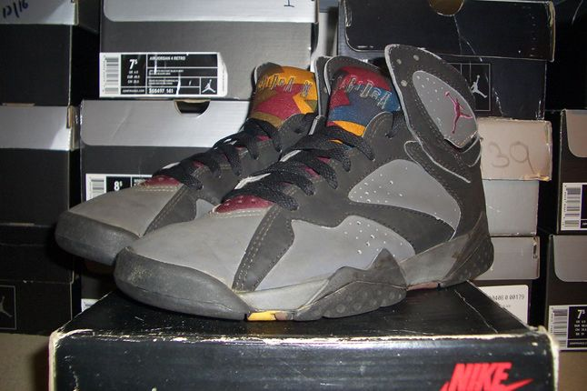 Rebecca Dahms Wmns Basketball Collection Air Jordan 7 Bordeaux Og 1