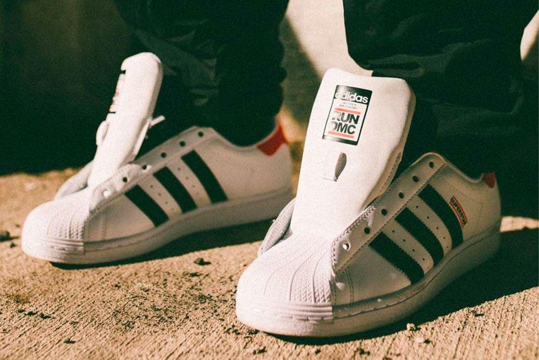 Run DMC adidas Superstar 2020