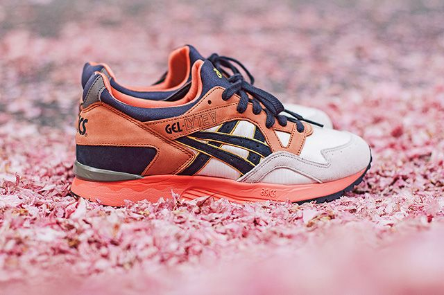 Ubiq X Asics Gel Lyte V Midnight Bloom 12