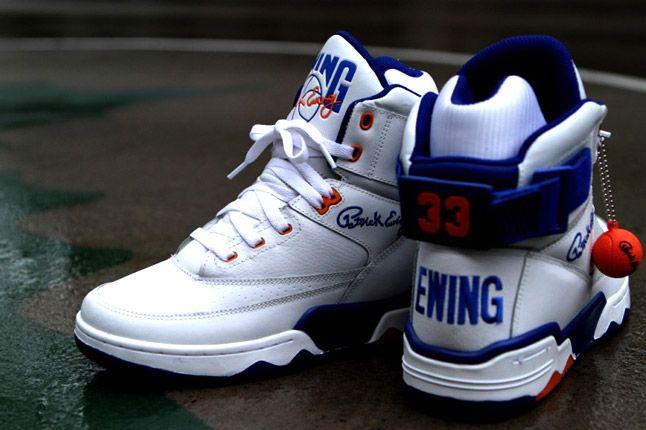 Ewing Athletics 33 Hi Kith Bball White 1