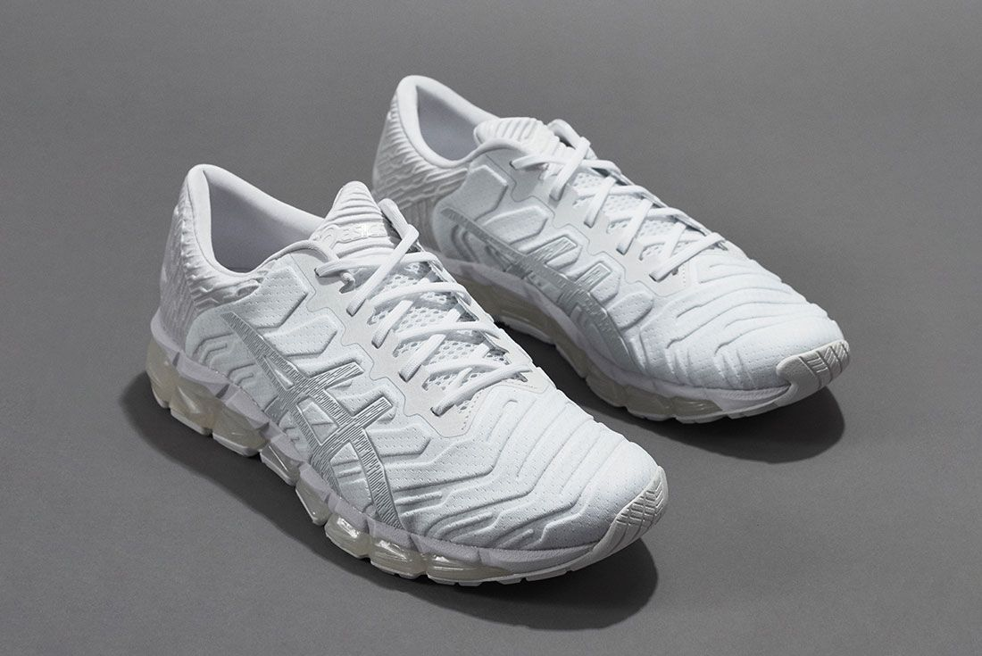 Asics Gel Quantumn 360 5 White Front Angle