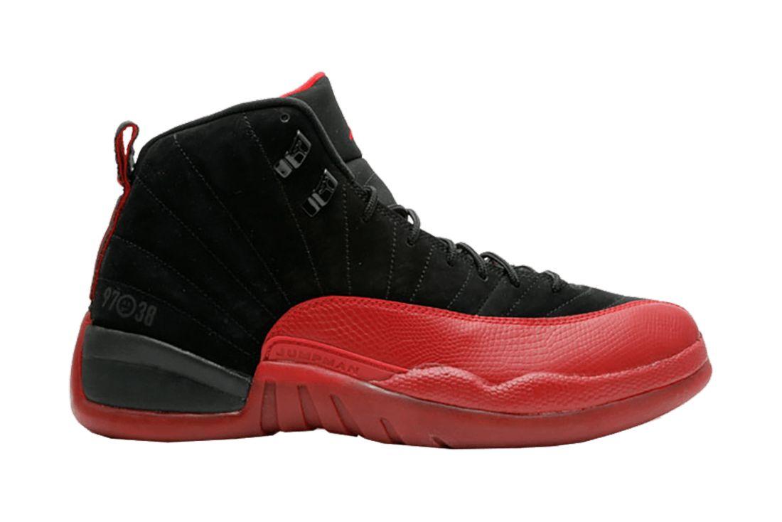 Air Jordan 12 Flu Game 2009 130690 065 Lateral