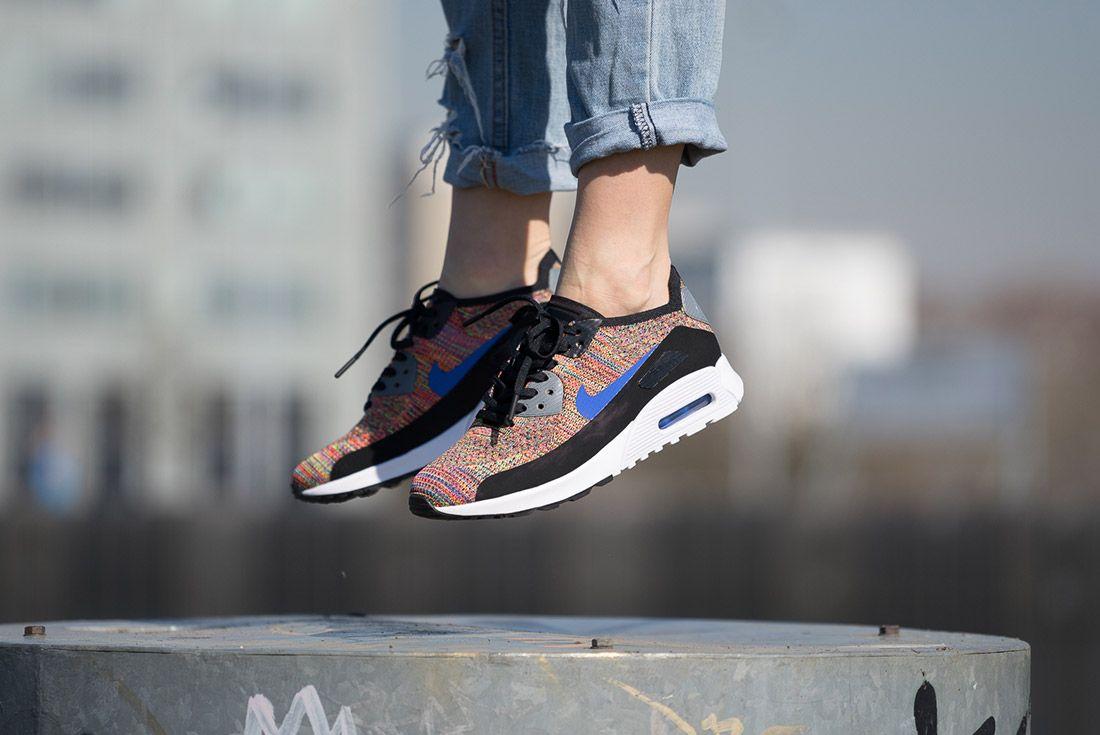 Nike Air Max 90 Flyknit Rainbow 1