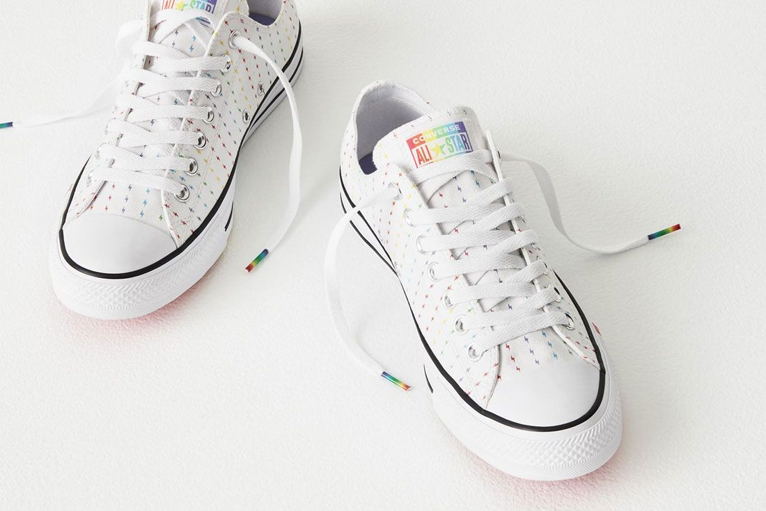 Converse All Star Pride Lo Pride Flag Front