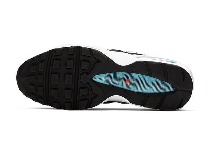 Nike Air Max 95 Blue Fury Ck0037 001 Sole Shot