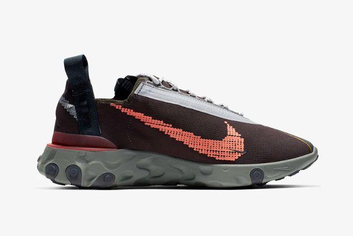 Nike Ispa React Low Velvet Brown Right