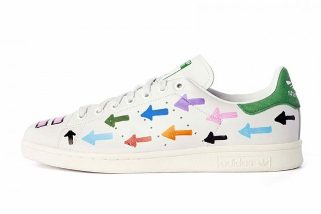 Pharrell Williams Hand Painted Adidas Originals Stan Smith 13