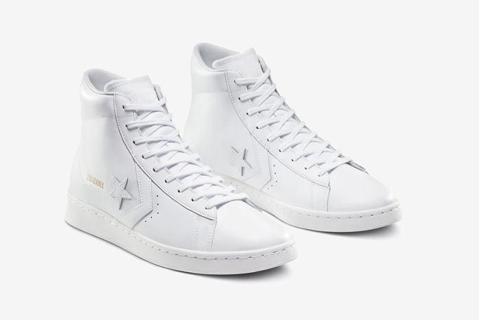 Converse Pro Leather Hi White Pair