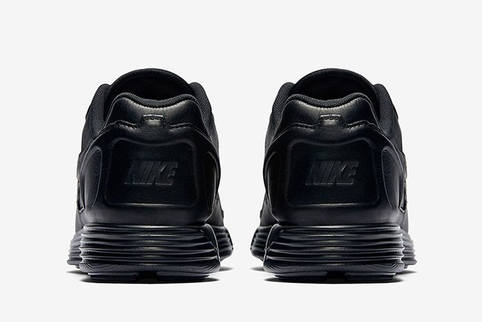 Nike Lunar Flow Triple Black Leather 3