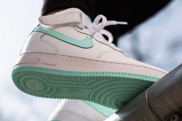 Nike Air Force 1 Mid Gs Whiteartisan Teal 2