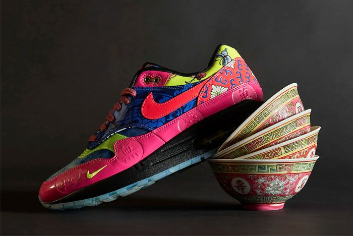 Nike Air Max 1 Chinese New Year Left