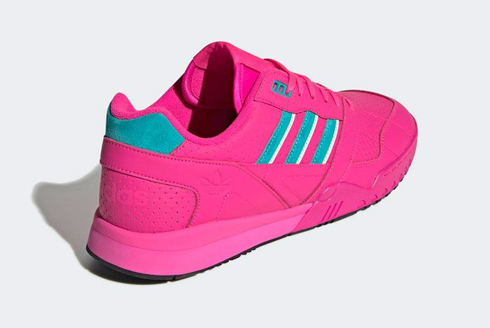 Adidas Ar Trainer Shock Pink Ee5400 Rear Angle
