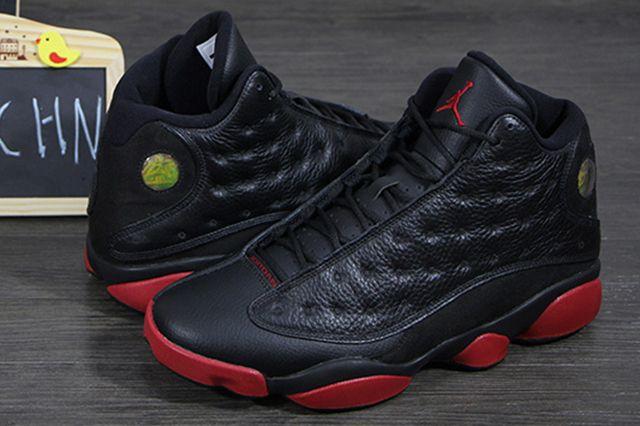 Air Jordan 13 Black Red 21