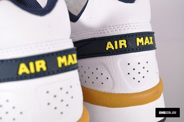 Nike Sportswear Air Classic Bw Armory Navy Heel Detail