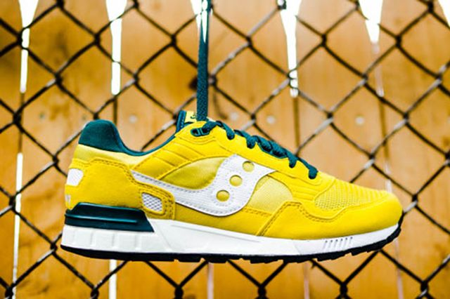 Saucony Shadow 5000 Yellow Green 2